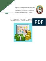 Metodologia de La Economia