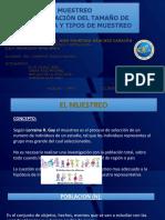 Expo Cisneros Muestreo