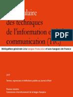 Vocabulaire-TIC en Ligne