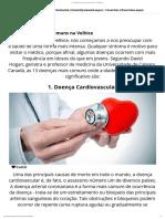 13 doenças comuns em idosos