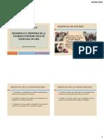 Desarrollo e Identidad de La Sociedad Porvenir - Trabajo Campo 2018