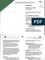 """01) Davidson, Jeff. (2001). """"Así Que Va a Dirigir Un Proyecto"""", """"Características de Un Buen Director de Proyectos"""" y """"¿Qué Quiere Ud. Conseguir_ en La Gestión de Proyectos. México Prentice-Hall, Pp. 1-37"""