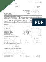 E.4 Leg Support Calculation