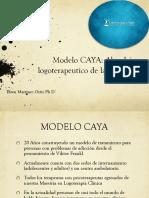 Modelo CAYA Abordaje Logoterapeutico de La Adicción - Efrén Martínez