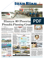 Haluan Riau, Kamis 01 November 2018