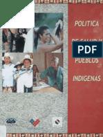 597-Politica de Salud Pueblos Indigenas 2006