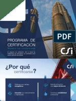 CSI University - CERTIFICACIÓN