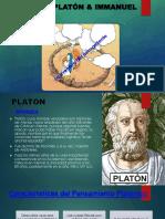 Filos. Platon & Kant