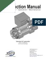 Kato Generator Instruction Manual