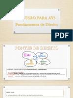 REVISÃO AV3 - FUND. DIREITO.pdf