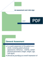 General Assesment and Vital Sign