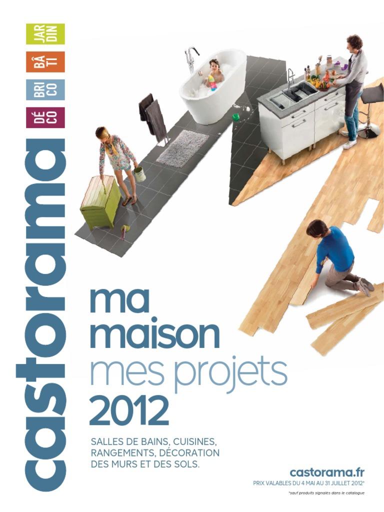 Planche Mélaminé Blanc Castorama catalogue castorama - ma maison, mes projets - 2012