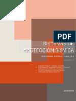 Sistemas de Protección Sismica