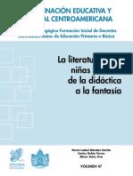 La Literatura Para Niñas y Niños de La Didáctica a La Fantasia