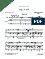 Piano Accompaniment Part Poulenc Oboe Sonata