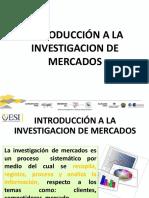 1 - Introducción a La Investigacion de Mercados