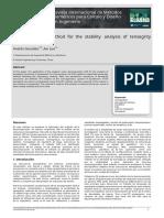 Uso del método SVD para el análisis de la estabilidad de estructuras tensegríticas