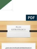 5. El Plan Estrategico