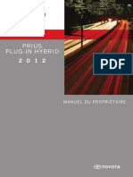 manual toyota prius hybrid - franceza