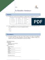 ΑΕΠΠ - 9ο Φυλλάδιο Ασκήσεων