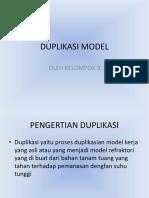 Duplikasi Model