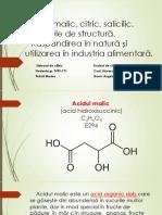 Acid Malic, Citric, Salicilic