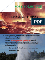 Procesos Geológicos Internos Externos Yacimts