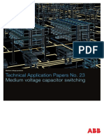 Medium Voltage Capacitor Switching