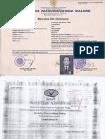 akta 4 + akreditasi marcel