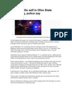 Suspect Kills Self in Ohio State Shooting 3-2010