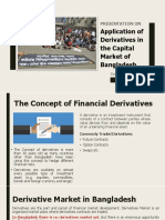 Application of Derivatives in the Capital Market of Bangladesh