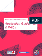 YAS 2019 Application Guidelines and FAQs
