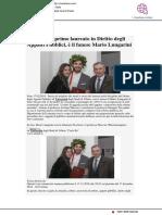 A Urbino il primo laureato in Diritto degli Appalti, è il fanese Mario Lungarini - Viverefano.it, 17 dicembre 2018