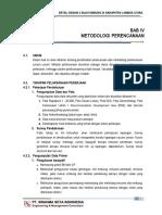 4. Bab IV Metodologi Perencanaan