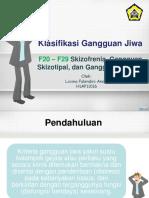 LFA - Klasifikasi Gangguan Jiwa.ppt