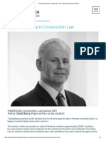 Concurrent Delay in Construction Law - Blackrock Expert Services
