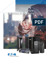 Eaton Power Infrastructure Solutions and Products Catalogue 2018 LR