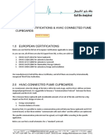 MILP0401816 European Certifications & HVAC Connected FC's