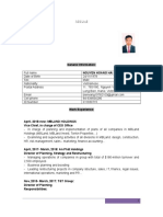 Resume Hoang Hai Head of Strategy