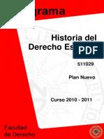 PROGRAMACION HISTORIA DEL DERECHO UNED.PDF