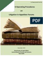sop on litigation