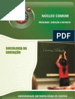 820_Sociologia Da Educação