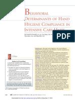 Behavioral determinants of HH Compliance in ICU.pdf