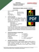 5.- Memoria de Calculo Cisterna y Tanque Elevado