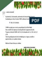 L'AMPA celebrarà el sorteig de TRES LOTS DE NADAL (2018)