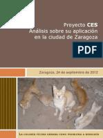 Analisis Aplicación Proyecto CES Ciudad de Zaragoza