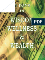 31 Days to Wisdom, Wellness and Wealth