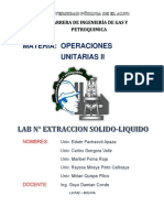 Informe Extraccion Solido Liquido