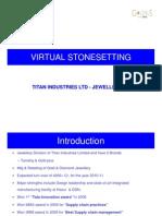 Virutal stonesetting