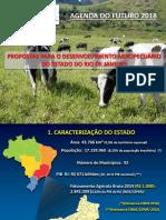 Apresentação do Diretor da Sociedade Nacional de Agricultura  (SNA), Alberto Figueiredo